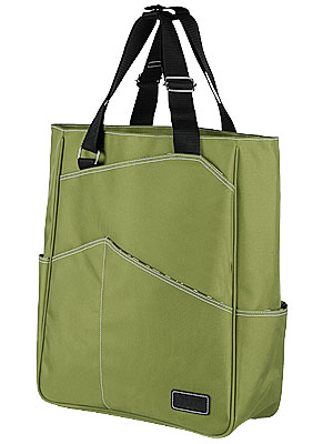 5e2687480079 This roomy and easy to carry canvas tote features water repellent fabric  and a leather Maggie Mather logo. There is a separate compartment that  allows you ...